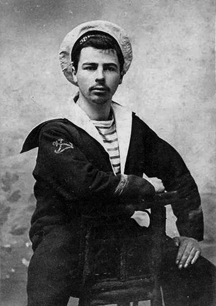 French sailor circa 1910